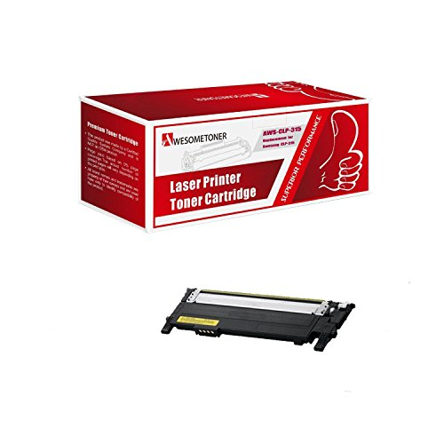 AwesometonerNew Compatible Remanufactured サムスン CLP315/CLT409S イエロー Toner Cartridges (海外取寄せ品)