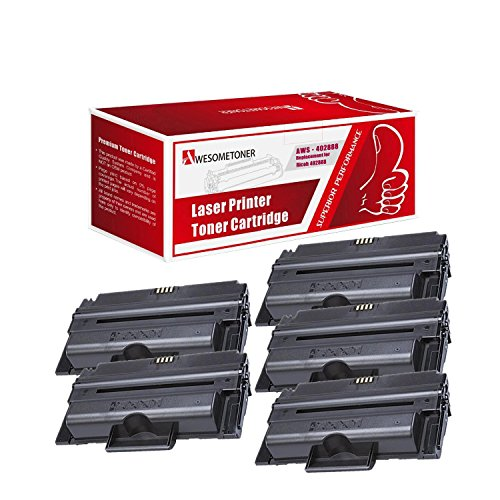 Awesometoner Compatible 5 パック 402888 Toner Unit For Ricoh Aficio SP3200, SP3200SF; SP3200SF ハイ Yield 8000 ページ (海外取寄せ品)