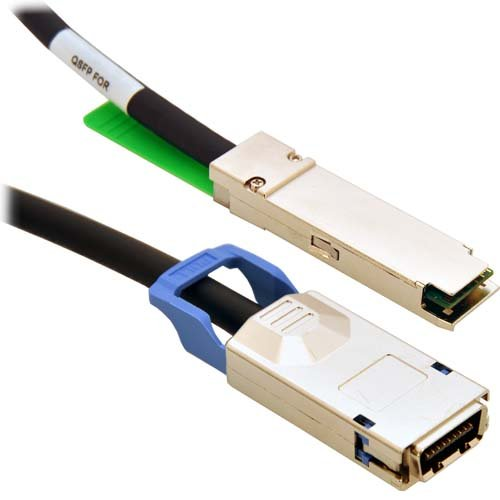 CableRack 1m QSFP-CX4 Passive Infiniband 10GBASE-CX4 DDR/SDR コッパー ケーブル (海外取寄せ品), 長生村:79a79728 --- ichihime.jp