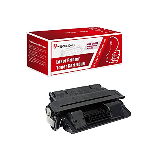 AwesomeToner 1 PK C4127A Compatible Toner cartridge For HP LaserJet 4000 4000N ハイ Yield 10000 ページ (海外取寄せ品)