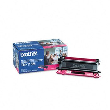 BRTTN115M - Brother TN115M ハイ-Yield Toner (海外取寄せ品)