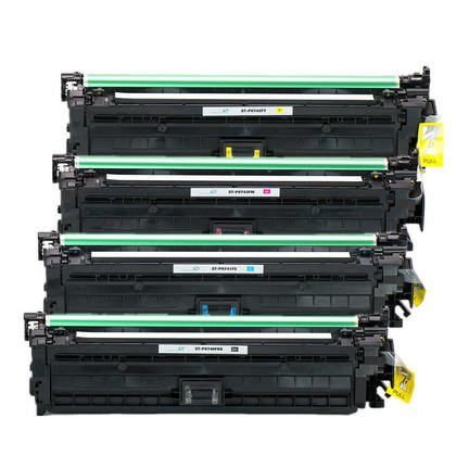 AZ サプライ Compatible リプレイスメント HP 307A HP CP5225 (CE740A, CE741A, CE742A, CE743A) ブラック シアン Magenta イエロー for HP カラー LaserJet CP5200, CP5225n, CP5220, CP5225dn, CP5200, CP5225n Series Printers (海外取寄せ品)