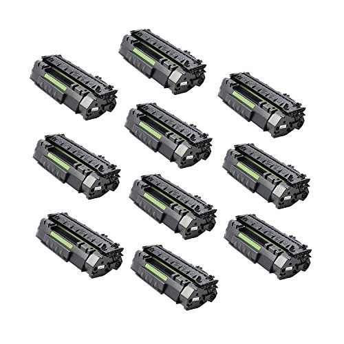 Aztech 10 パック Replaces HP Q5949A 49A ブラック Toner Cartridge For HP LaserJet 1160 1160LE 1320 1320N 1320TN 1320NW 3390 3392 (海外取寄せ品)