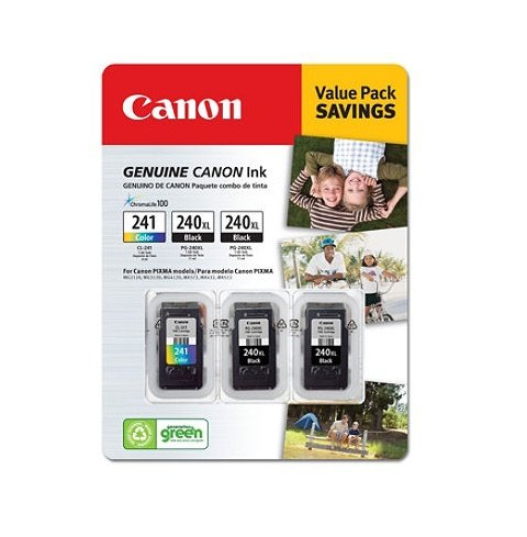 Canon PG-240XL/CL-241Ink Cartridges - コンボ パック (海外取寄せ品)