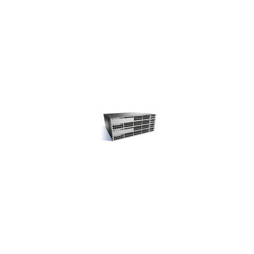 Cisco Catalyst 3850-48T-E - Switch - L3 - managed - 48 x 10/100/1000 - デスクトップ, rack-mountable (海外取寄せ品)
