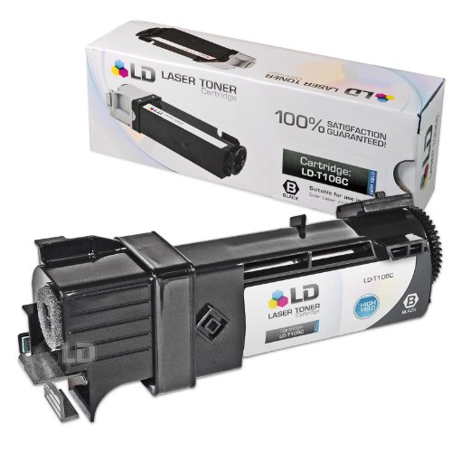 (2,500 Pages) ハイ Yield (B, C, M, Y) Compatible デル 2130cn, 2135cn カラー Laser Toner Cartridges コンボ (海外取寄せ品)