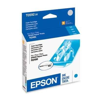 Epson アメリカ T059220 シアン Cart for R2400 「汎用品」(海外取寄せ品)