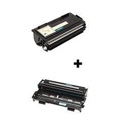 (2 Pack) Compatible with Brother, セット of TN-430 Toner Cartridge, DR-400 Drum Unit - 1 of each 「汎用品」(海外取寄せ品)