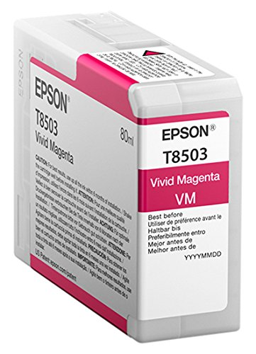 Epson T850300 T850 UltraChrome HD Vivid Magenta Ink 「汎用品」(海外取寄せ品)