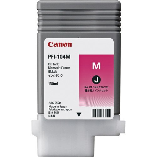 Pfi-104m-Magenta Ink Tank 130ml by Canon (海外取寄せ品)