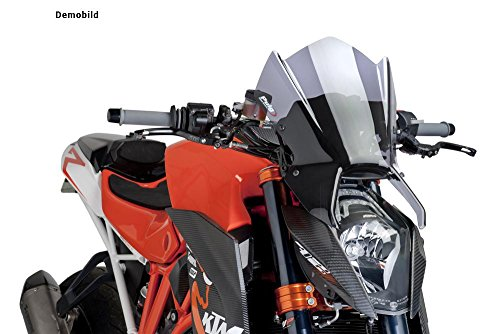 PUIG 7014W Naked New Generation Windscreen - Clear (海外取寄せ品)