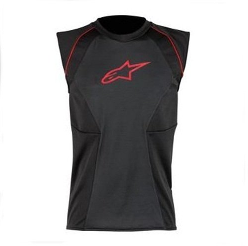Alpinestars MX Cooling ベスト (Black/Red, X-Large) (海外取寄せ品)