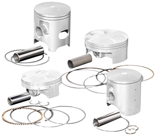 Wiseco 4466M07550 75.50mm 10.5:1 Compression 258cc Motorcycle Piston キット (海外取寄せ品)