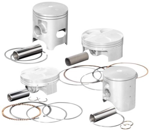 Wiseco 4843M07700 77.00mm 14.1:1 Compression 250cc Motorcycle Piston キット (海外取寄せ品)