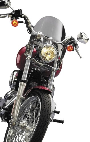 National Cycle N21720 Switchblade Shorty ティント Windshield for H-D 1980-10 FX Wid - One サイズ (海外取寄せ品)