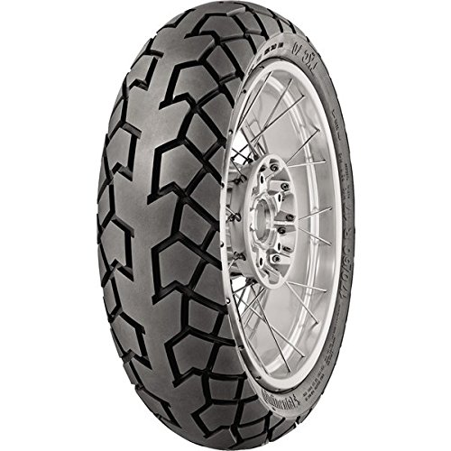 Continental 2402450000 TKC 70 アドベンチャー Rear Tire - 120/90-17 , Position: Rear, Rim サイズ: 17, Tire Application: オール-Terrain, Tire サイズ: 120/90-17, Tire Type: Trials, Load Rating: 64, スピード Rating: T, Tire Construction: Bias (海外取寄せ品)