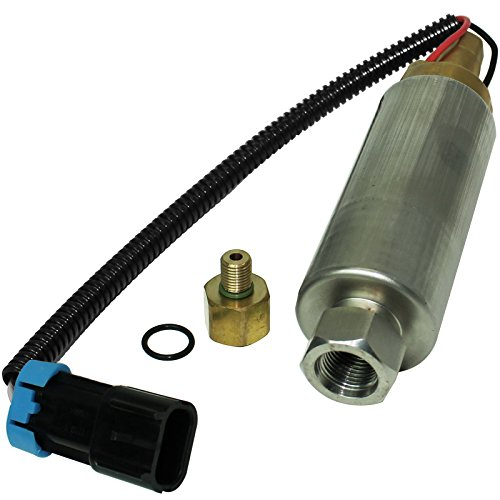 CALTRIC ELECTRIC FUEL PUMP フィット MERCRUISER 5.7L (2BBL) GM 350 V8 1998 1999 2000 2001 ロー Pressure (海外取寄せ品)