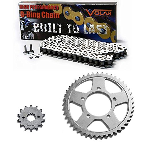 Caltric Red Drive Chain And Sprocket Kit for Yamaha Yz400F Yz 400 F 1998 1999