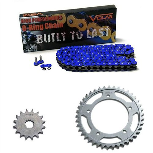 1983-1986 Suzuki GS550 GS550L O-リング チェーン and Sprocket キット - ブルー (海外取寄せ品)