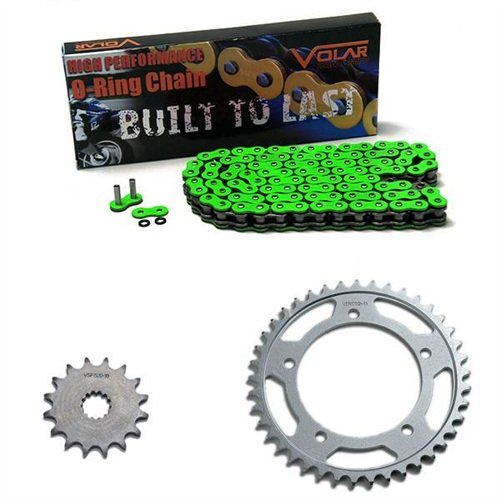 1983-1986 Suzuki GS550 GS550L O-リング チェーン and Sprocket キット - グリーン (海外取寄せ品)