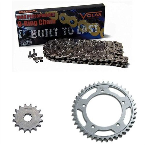 1977-1978 Suzuki GS550 O-リング チェーン and Sprocket キット - Nickel (海外取寄せ品)