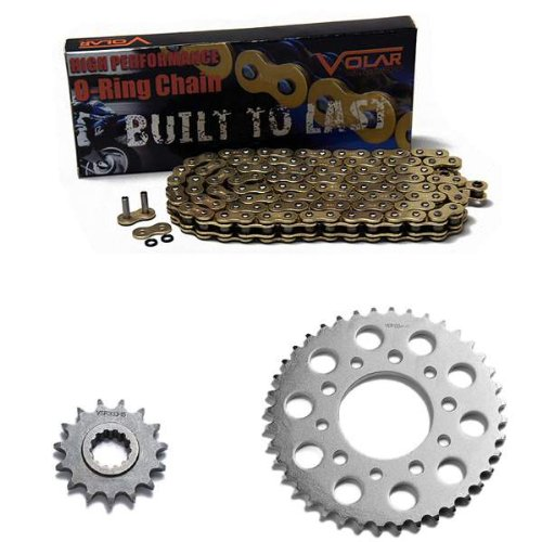 1995-2003 Honda Magna 750 Deluxe VF750CD O-リング チェーン and Sprocket キット - ゴールド (海外取寄せ品)