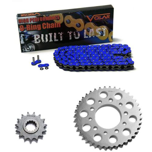 1995-2003 Honda Magna 750 Deluxe VF750CD O-リング チェーン and Sprocket キット - ブルー (海外取寄せ品)