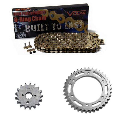 1998-2003 Suzuki TL1000R O-リング チェーン and Sprocket キット - ゴールド (海外取寄せ品)