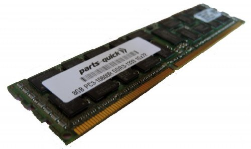 8GB Memory Upgrade for ASUS RS Server RS704DA-E6/PS4 DDR3 1333MHz PC3-10600 ECC レジスター Server DIMM (PARTS-クイック BRAND) (海外取寄せ品)