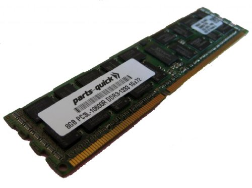 8GB DDR3 メモリ memory Upgrade for Supermicro SuperServer F627G3-F73+ PC3L-10600R 1333MHz ECC レジスター Server DIMM RAM (PARTS-クイック BRAND) (海外取寄せ品)