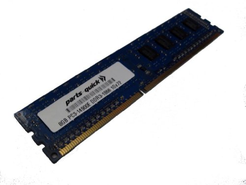 8GB Memory Upgrade for Supermicro SuperServer 2027GR-TRFH-FM675 PC3-14900E 1866 MHz ECC Unbuffered DIMM RAM (PARTS-クイック BRAND) (海外取寄せ品)