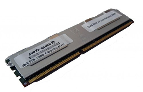 32GB メモリ memory for Supermicro SuperServer 6027TR-D71FRF DDR3L PC3-10600L 1333MHz ECC LRDIMM (PARTS-クイック BRAND) (海外取寄せ品)