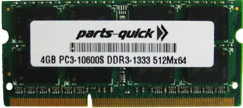 4GB メモリ memory for デル Wyse 7492-X90M7 ティン Client DDR3 PC3-10600 1333MHz SODIMM RAM (PARTS-クイック BRAND) (海外取寄せ品)