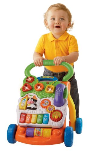 VTech Sit-to-Stand Learning Walker 「汎用品」(海外取寄せ品)