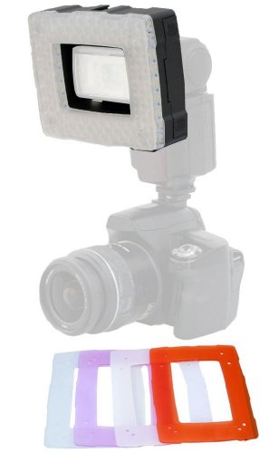 Polaroid 102 LED Dimmable LED Light デザイン To Be Used Together With A フラッシュ 「汎用品」(海外取寄せ品)