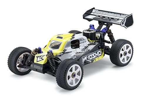 Kyosho Inferno Neo 2.0 RC ナイトロ Buggy (1:8 Scale), イエロー 「汎用品」(海外取寄せ品)