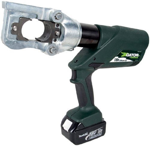 Greenlee E12CCXL120 Gator バッテリー-Powered 12 Ton CCX Tool with 120-Volt AC コー??ド Adaptor 「汎用品」(海外取寄せ品)