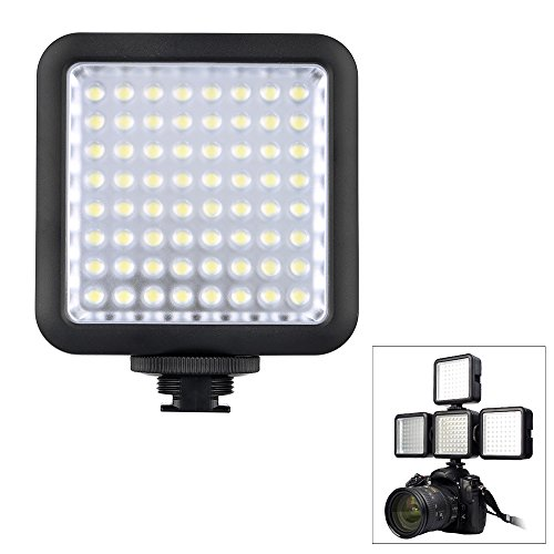 Godox LED64 ビデオ Light 64 LED ライト for DSLR Camera Camcorder ミニ DVR as Fill Light for ウエディング News Interview Macrophotography 「汎用品」(海外取寄せ品)