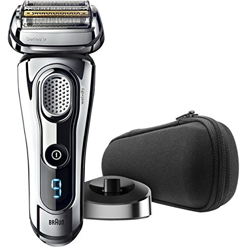 Braun Series 9 9293s Wet & Dry Electric Shaver for メンズ with Charging Stand, プレミアム クローム Cordless Razor, Razors, Shavers, ポップ up Trimmer, トラベル ケース 「汎用品」(海外取寄せ品)
