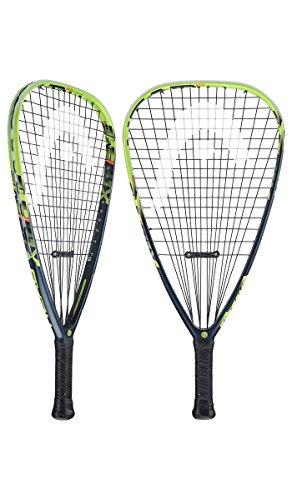 HEAD Graphene タッチ Extreme 175 Racquetball Racquet, Strung, 3 5/8 インチ Grip (海外取寄せ品)