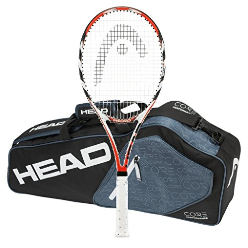 Head Microgel ラジカル MidPlus MP - STRUNG - 3 Racquet Bag (4-1/8) (海外取寄せ品)