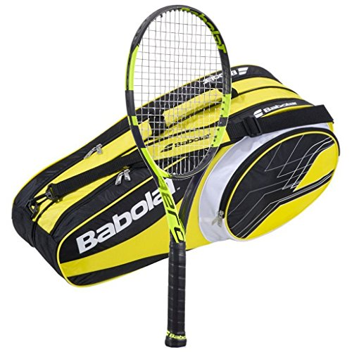 Babolat ピュア 4-1/2) Aero Plus Srung テニス Racquet - Srung Plus with 6 Racquet Bag (Yellow Bag, 4-1/2) (海外取寄せ品), オクツチョウ:d4ee9688 --- acessoverde.com
