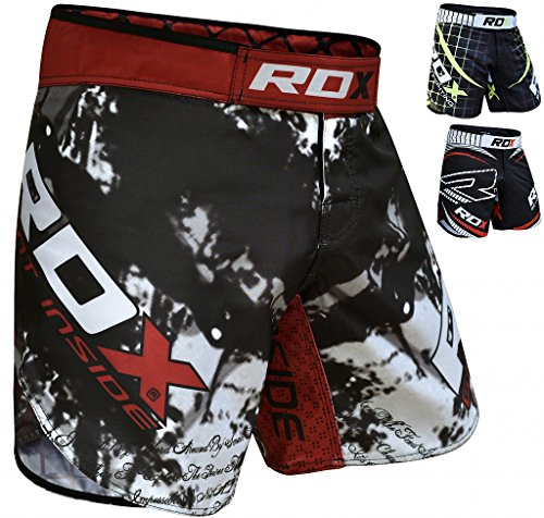 RDX Clothing MMA Training UFC ショート Cage Fighting Grappling Martial Arts Boxing Muay タイ Kickboxing (海外取寄せ品)