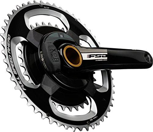 FSA PowerBox Alloy ロード Crankset 172.5mm 34/50t Bottom Bracket Not (海外取寄せ品)