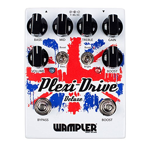 Wampler Pedals プレキシ-ドライブ Deluxe V2 Distortion/Overdrive Effects Pedal (海外取寄せ品)