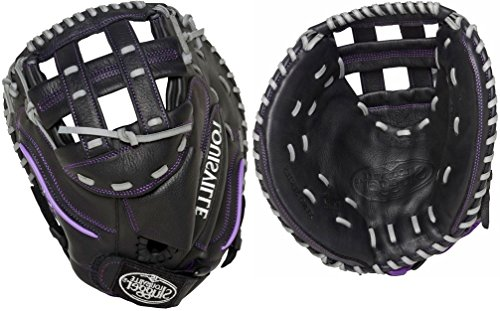 Louisville Slugger CTM2LT Xeno Catcher's Mitts, Left スルー, ブラック (海外取寄せ品)