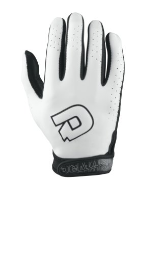 DeMarini Youth Superlight Batting Glove, ホワイト, Medium (海外取寄せ品)