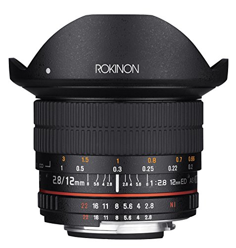 Rokinon 12mm F2.8 Ultra ワイド Fisheye レンズ for Pentax DSLR Cameras- Full フレーム Compatible (海外取寄せ品)