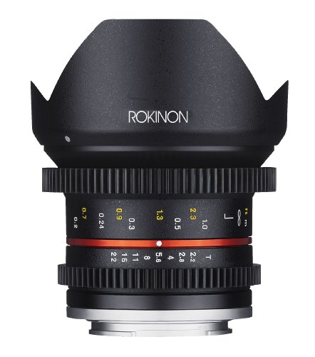 Rokinon Cine CV12M-E 12mm T2.2 Cine フィックス レンズ for ソニー E-Mount and Other Cameras (海外取寄せ品)