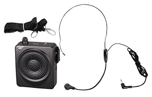 PYLE-プロ PWMA50B 50 ワット Portable ウエスト-バンド Portable PA System with ヘッドセット Microphone, Rechargeable Batteries (Color Black) 「汎用品」(海外取寄せ品)